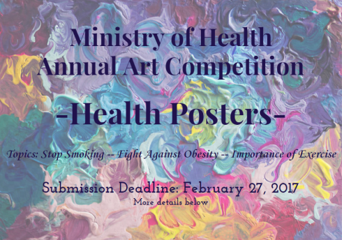 The Ministry Of Health Is Organizing An Art Competition Entitled Posters