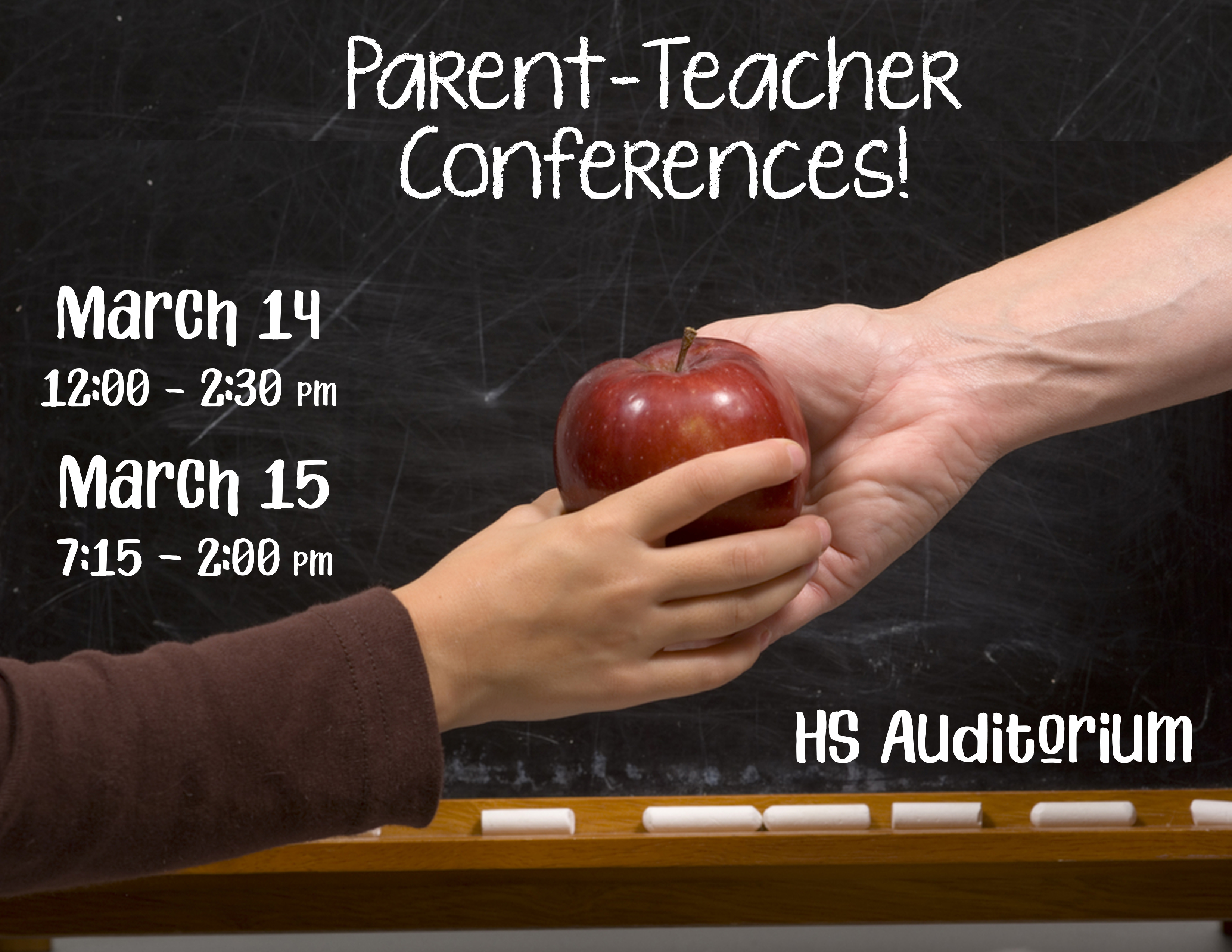 Parentteacher conferences march 14 15 ask high school office blog we invite all high school parents and students to attend the parent teacher conferences which will take place on march 14th 1200 230pm and march 15th altavistaventures Gallery